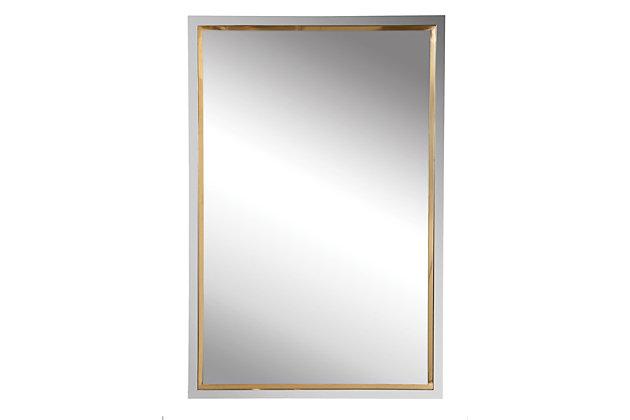 Uttermost Locke Chrome Vanity Mirror, , large