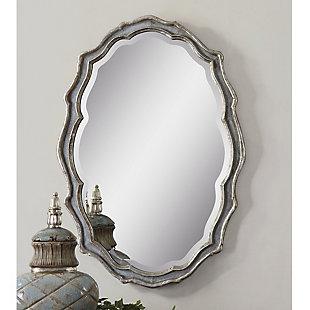 Uttermost Dorgali Slate Blue Mirror, , rollover