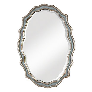 Uttermost Dorgali Slate Blue Mirror, , large