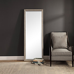 Uttermost Cacelia Metallic Silver Mirror, , rollover