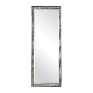 Uttermost Cacelia Metallic Silver Mirror, , large