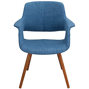 Flair Chair, Blue, rollover