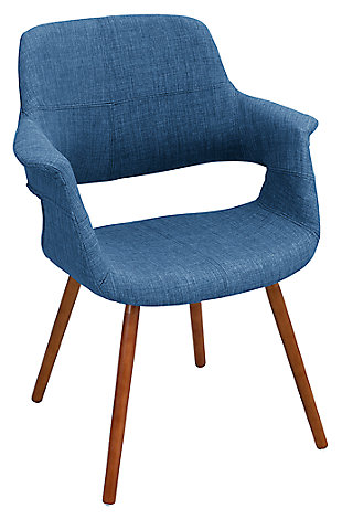 Flair Chair, Blue, large