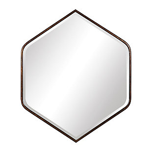 Uttermost Magda Hexagon Wall Mirror, , large
