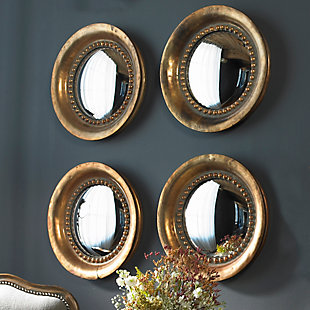Uttermost Tropea Rounds Wood Mirror Set of 2, , rollover