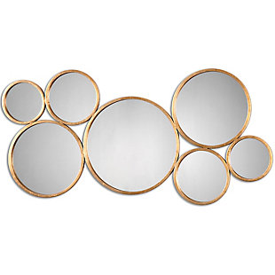 Uttermost Kanna Gold Wall Mirror, , large