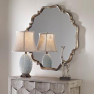 Uttermost Valentia Silver Mirror, , rollover