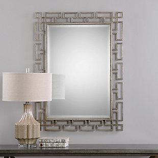 Uttermost Agata Silver Mirror, , rollover