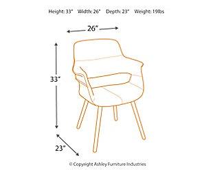Flair Chair, Green, large