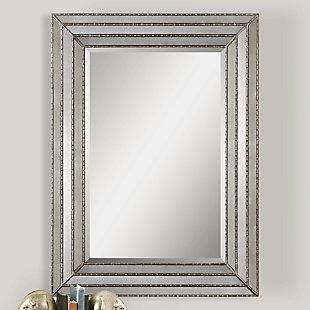 Uttermost Seymour Antique Silver Mirror, , rollover