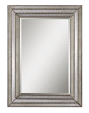 Uttermost Seymour Antique Silver Mirror, , large