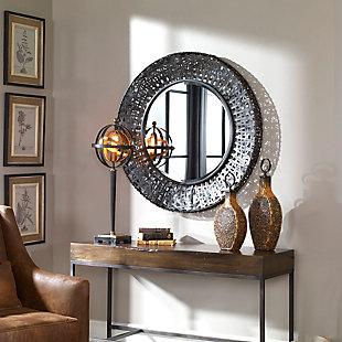 Uttermost Alita Woven Metal Mirror, , rollover