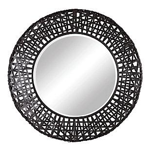 Uttermost Alita Woven Metal Mirror, , large