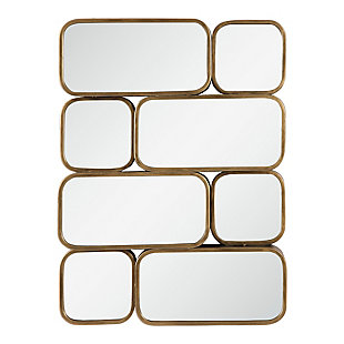 Uttermost Canute Modern Gold Mirror, , large
