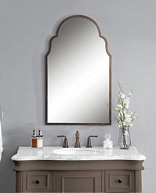 Uttermost Brayden Arch Metal Mirror, , rollover