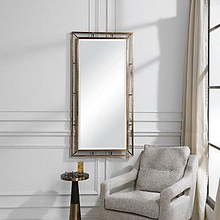 Uttermost Farrow Copper Industrial Mirror, , rollover
