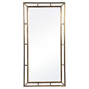 Uttermost Farrow Copper Industrial Mirror, , large