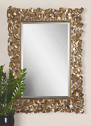 Uttermost Capulin Antique Gold Mirror, , rollover