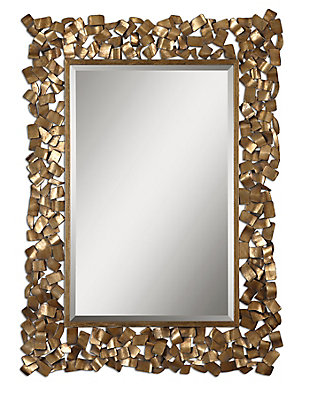 Uttermost Capulin Antique Gold Mirror, , large