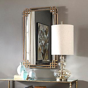 Uttermost Devoll Antique Gold Mirror, , rollover