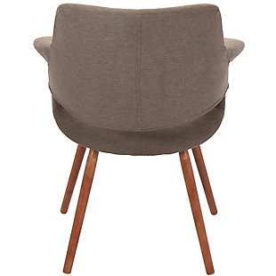 Flair Chair, Brown, large
