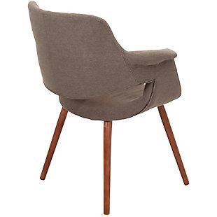 Flair Chair, Brown, large