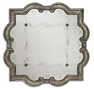 Uttermost Prisca Distressed Silver Mirror Small, , large