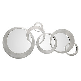 Uttermost Odiana Silver Rings Modern Mirror, , large