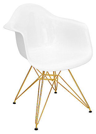 Neo Flair Chair, White, large