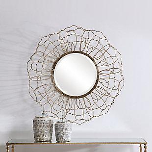 Uttermost Rosie Round Mirror, , rollover