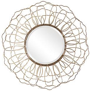 Uttermost Rosie Round Mirror, , large