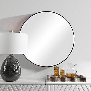 Uttermost Coulson Modern Round Mirror, , rollover