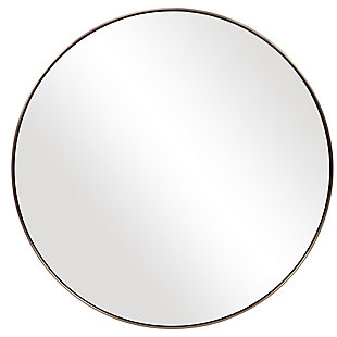 Uttermost Coulson Modern Round Mirror, , large
