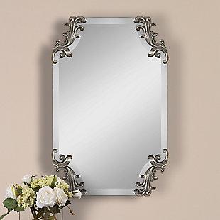 Uttermost Andretta Baroque Silver Mirror, , rollover