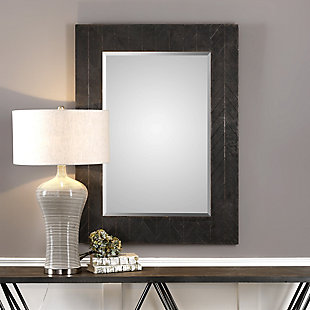 Uttermost Caprione Oxidized Dark Copper Mirror, , rollover