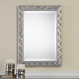 Uttermost Ioway Metallic Silver Mirror, , rollover