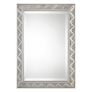 Uttermost Ioway Metallic Silver Mirror, , large