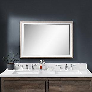 Uttermost Mitra Rectangular Mirror, , rollover