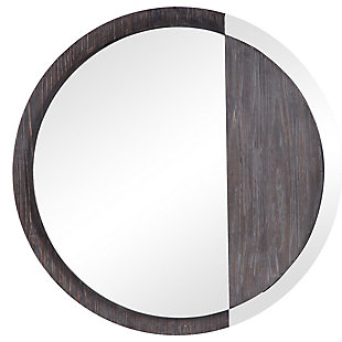 Uttermost Tajitu Modern Round Mirror, , large
