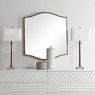 Uttermost Cerise Gold Mirror, , rollover