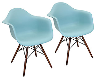 Neo Flair Chair (Set of 2), Seafoam, large