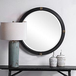 Uttermost Tull Industrial Round Mirror, , rollover