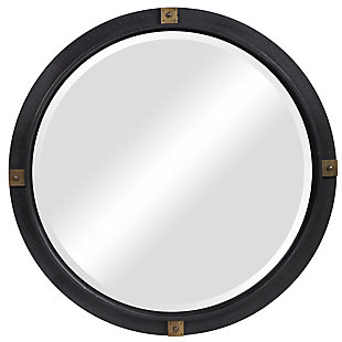 Uttermost Tull Industrial Round Mirror, , large