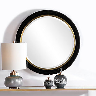 Uttermost Nayla Tiled Round Mirror, , rollover