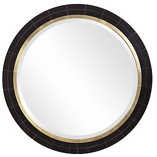 Uttermost Nayla Tiled Round Mirror, , large