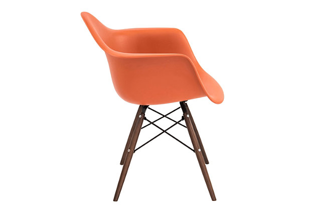 Lumisource Neo Flair Chair (Set of 2) by Ashley HomeStore, Orange