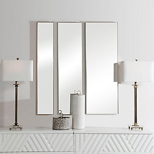 Uttermost Rowling Gold Mirrors, Set of 3, , rollover