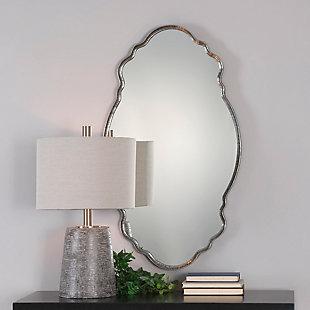 Uttermost Samia Silver Mirror, , rollover