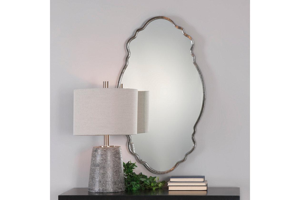 Uttermost Samia Silver Mirror Ashley Furniture Homestore