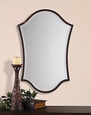 Uttermost Abra Bronze Vanity Mirror, , rollover